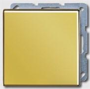 Заглушка с опорной пластиной Jung LS Gold Золото go2994b
