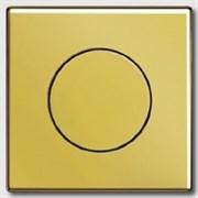 Накладка светорегулятора поворотного Jung LS Gold Золото go1940