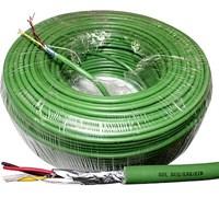 HDL-BUS и KNX кабель 2x2x0,8мм.кв. Экранированный (1 бухта 200м)