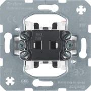 303650 Одноклавишный выключатель для полых стен  Модульные механизмы Berker