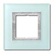 Рамка одинарная Jung LS Plus Матовое стекло LSP981GLAS