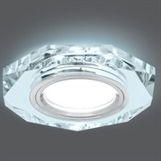 Светильник Gauss Backlight BL054 Восемь гран. Кристалл/Хром, Gu5.3, LED 4100K 1/40