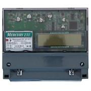 Меркурий 231 АT Электросчетчик 5-60А/220В 3Ф 4Т 1класс на DIN-рейку