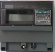 Меркурий Электросчетчик 201.22 на DIN-рейку 5-50А/220В 1Ф 1тарифн. ЖКИ встроенный PLC модем