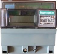 Меркурий Электросчетчик 201.4 на DIN-рейку 10-80А/220В 1Ф 1т. ЖКИ