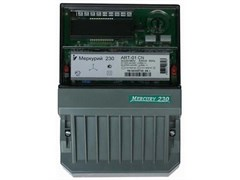 Меркурий Электросчетчик 230 АRТ-01 SIGDN 3Ф 4т.внутр.тариф. 5-50 А ЖКИ