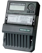 Меркурий Электросчетчик 230 АRТ-03 CLN 5-7,5А 380В кл.т. 0,5, ЖКИ, CAN, PLC, многотарифный