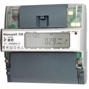 Меркурий электросчетчик 236 АRT-01 PQRS 5-60А; 3Ф 230/400 (кт. 1,0/2,0; оптопорт; RS485; DIN)