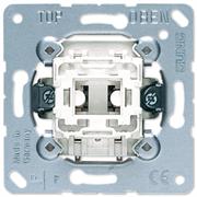 JUNG Мех Выключатель 1-клавишный кнопочный (1 НО контакт) 531U