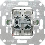 Мех Выключатель кнопочный (1 НО контакт) 2-х клавишный