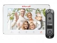 DVC Комплект видеодомофона TR-29M W/414Bl