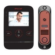 Tor-neT Комплект видеодомофона TR-25M B/412Re