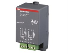 ES/M 2.230.1 Модуль электронного реле для термоэлектрических приводов, 2-х канальное 230В ABB KNX