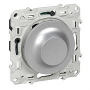 Odace Алюминий Светорегулятор поворотный универсальный 20-420Вт