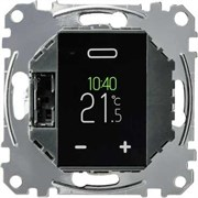 Merten Термостат программируемый с сенсорным дисплеем MTN5776-0000