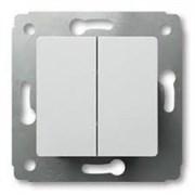 Legrand Cariva Бел Выключатель 2-клавишный