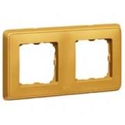 Legrand Cariva Матовое золото Рамка 2-ая