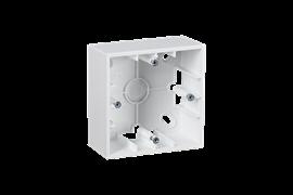 Simon 15 Белая Коробка 1-ая для наружного монтажа