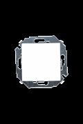 Simon 15 Белый Переключатель 1-клавишный, 16А, 250В, винт.зажим