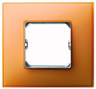 Simon 27 Neos Оранжевая Рамка 3-ая