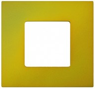 Simon 27 Play Артик Жёлтый Рамка-декор 1-ая