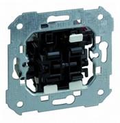 Simon 75 Мех Выключатель проходной + клавишная кнопка, 10А 250В, S82,82N,88
