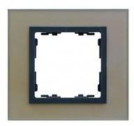 Simon 82 Nature Медь/Графит (стекло) Рамка 2-ая