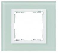 Simon 82 Nature Натуральный/Белое стекло Рамка 3-ая