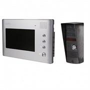 Zamel Комплект видеодомофона для одной семьи с цветным экраном 7 и антивандальной вызывной панелью VP-705P