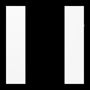 JUNG KNX Белый Набор накладок, на кнопочный модуль 3гр