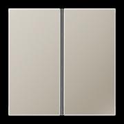 JUNG KNX LS 990 Edelstahl Комплект накладок, 2гр