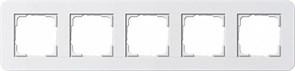 Gira серия E3 Белый глянцевый Рамка 5-ая