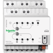 KNX - система умного дома Schneider Electric Актуатор для управлен. фен-коилами - MTN645094