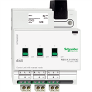 KNX - система умного дома Schneider Electric Устройство управления 1-10В,  3-канала - MTN646991