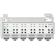 KNX - система умного дома Schneider Electric Актуатор унив. 24-12 канала 230В 10А - MTN649912