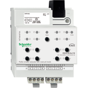 KNX - система умного дома Schneider Electric Актуатор жалюзи 4-канала 230В, 10А - MTN649704