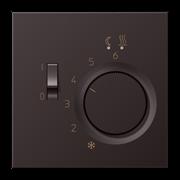 JUNG LS 990 Dark Накладка регулятора теплого пола ALFTR231PLD