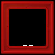 Рамка 1-кратная rouge vermillon 31
