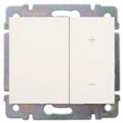 Светорегулятор кнопочный 1000 Вт. Цвет Белый. Legrand Galea Life (Легранд Галея Лайф). 775653+771086
