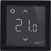 Devi Smart Черный Терморегулятор интеллектуальный с Wi-Fi, 16А (140F1143)