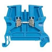 Винтовая клемма Viking 3 - однополюсная - 1 вход/1 выход - шаг 6 мм - синий (37101)