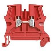 Винтовая клемма Viking 3 - однополюсная - 1 вход/1 выход - шаг 5 мм - красный