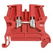 Винтовая клемма Viking 3 - однополюсная - 1 вход/1 выход - шаг 6 мм - красный