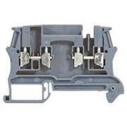 Винтовая клемма Viking 3 - многофункциональная - однополюсная - модульная - шаг 5 мм - серый