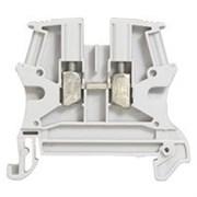 Винтовая клемма Viking 3 - однополюсная - 1 вход/1 выход - шаг 6 мм - серый (37161)