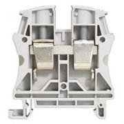 Винтовая клемма Viking 3 - однополюсная - 1 вход/1 выход - шаг 12 мм - серый (37164)