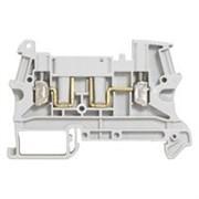 Винтовая клемма Viking 3 - с разъединителем - однополюсная - с разрывом цепи - шаг 6 мм