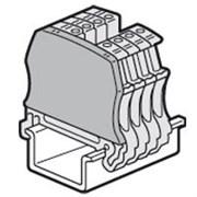 Торцевая крышка Viking 3 - для винтовых клемм - 1 вход/1 выход - с шагом 5/6/8/10 мм (37550)