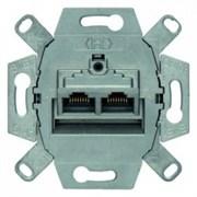 4587 Розетка UAE 8/8-полюсн. экранированная  Модульные механизмы Berker