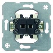 303520 Жалюзийный двухклавишный выключатель  Модульные механизмы Berker